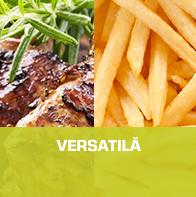 VERSATILĂ : Multiple preparate, de la aperitive până la deserturi.