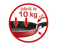 Suportă până la 10 kg*